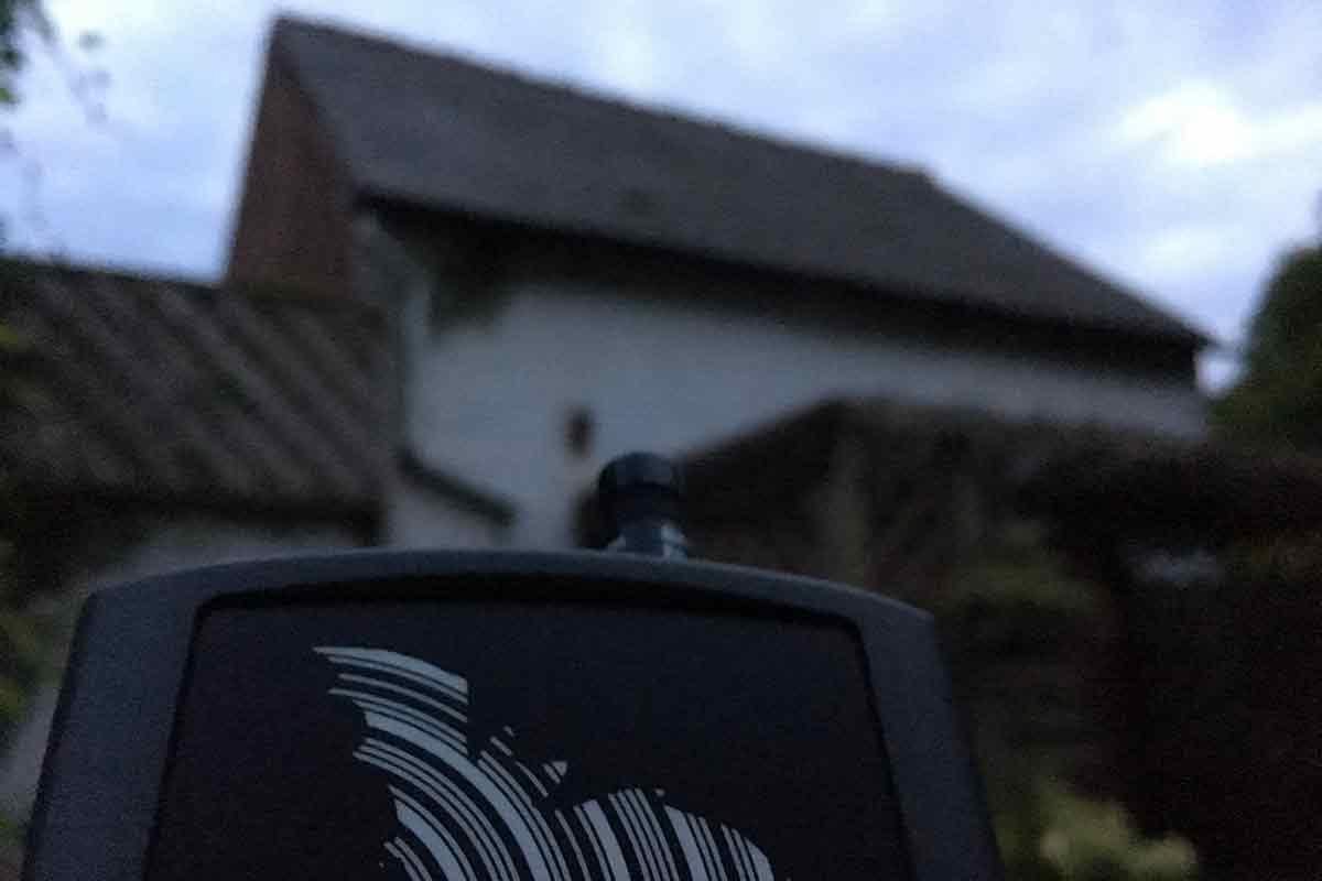Bat survey in Northwich, Cheshire